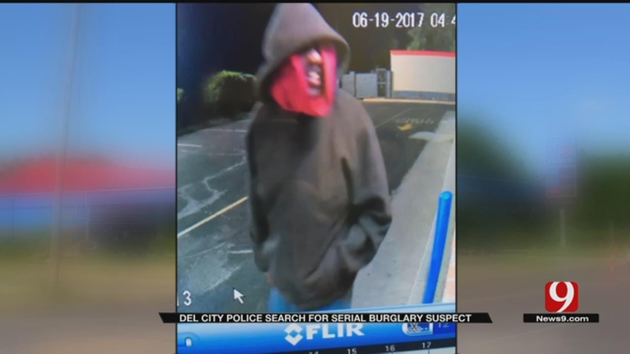 Police Searching For Bizarre Del City Burglar