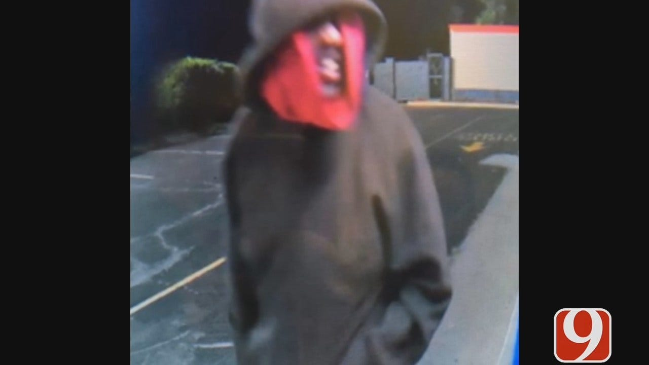 Del City Burglar Uses Bizarre Disguise