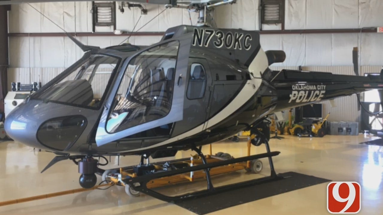 Oklahoma City Man Arrested For Shining Laser At Police Helicopter