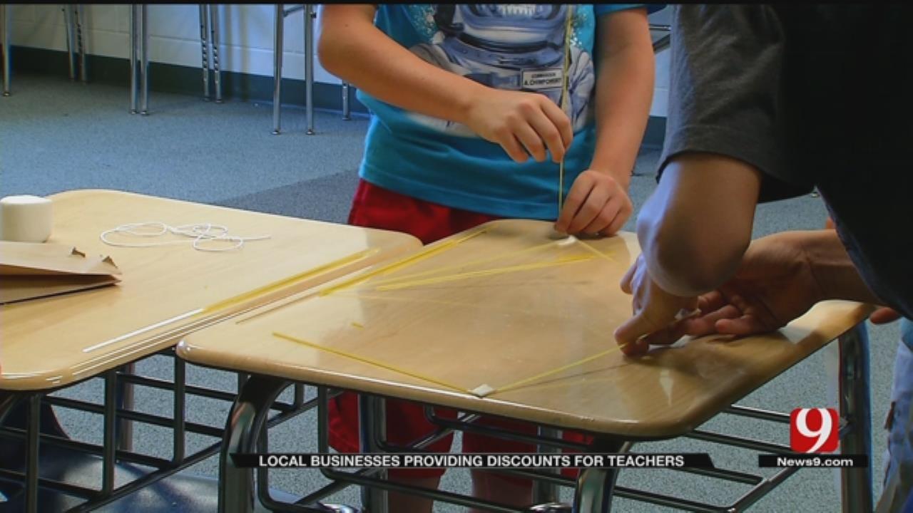 Oklahoma Businesses Team Up To Provide Teacher Discounts
