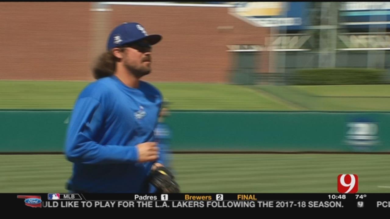 OKC Dodgers Catcher Jack Murphy Interview
