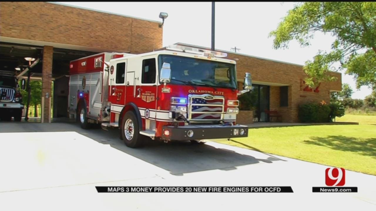 New Fire Engine Fleet Hits Streets Of OKC