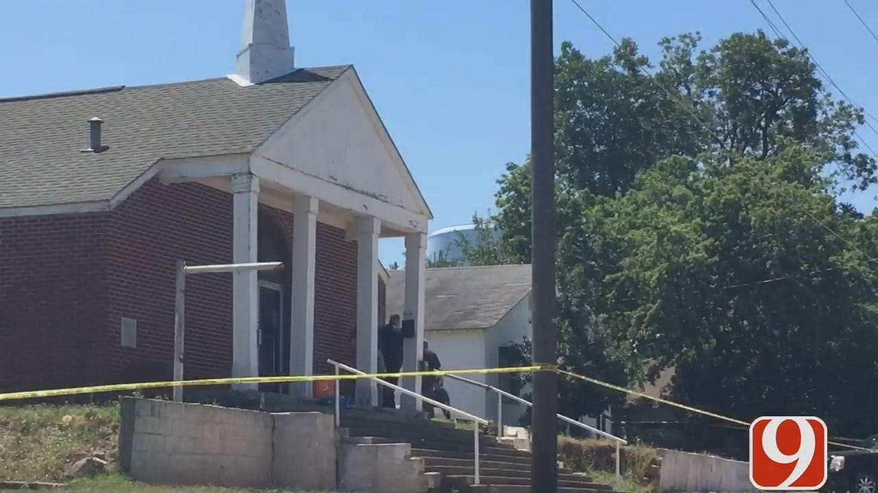 Pastor's Body Found Burned Next To Church In Chickasha