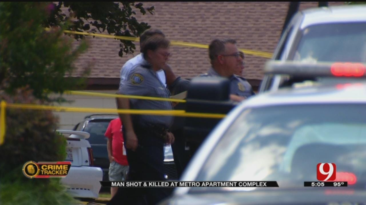 Police Searching For Suspect In Deadly NW OKC Shooting