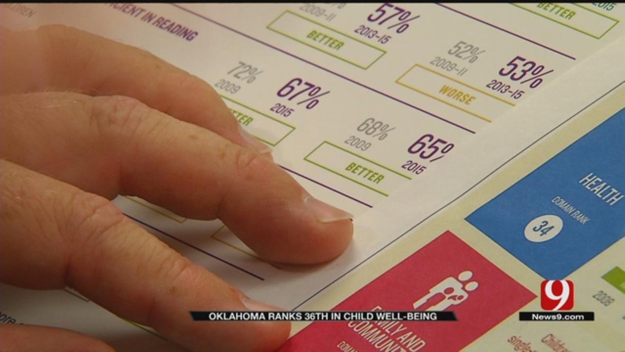 Study Ranks Oklahoma 36th In Nation In Raising Kids