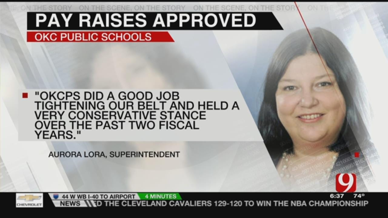 OKCPS Gives Raise To Teachers, Principals, Support Staff