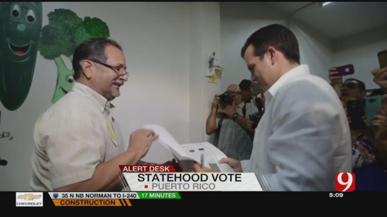 Voters In Puerto Rico Overwhelmingly Chose U.S. Statehood