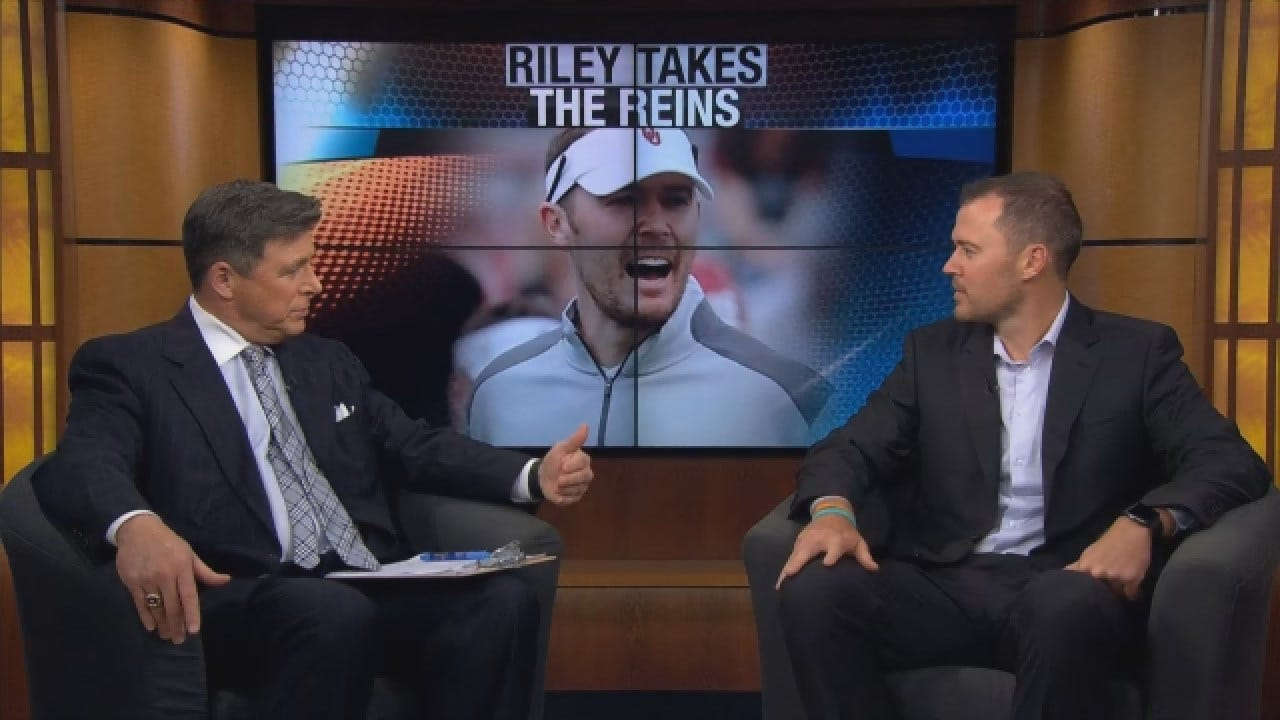 OU Head Football Coach Lincoln Riley Sits Down One-On-One With News 9