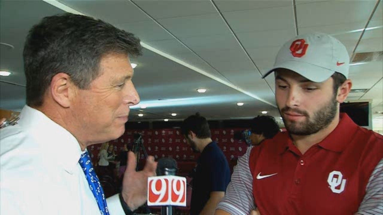WATCH: Baker Mayfield Weighs In On Bob Stoops' Retirement