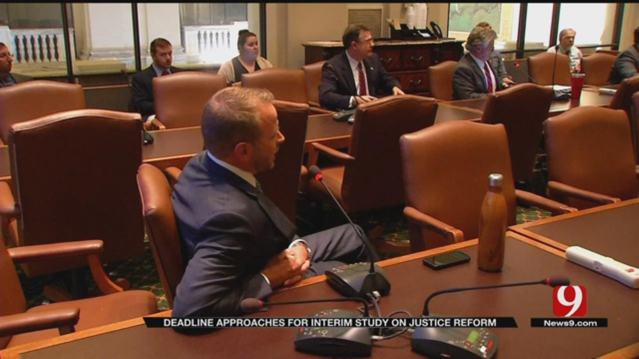 Interim Study Into Criminal Justice Reform Expected