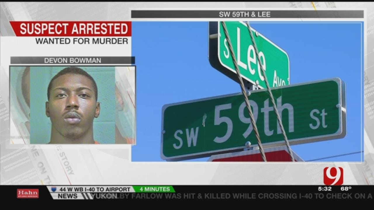 OKCPD Arrests Second Suspect For First Degree Murder In May Shooting