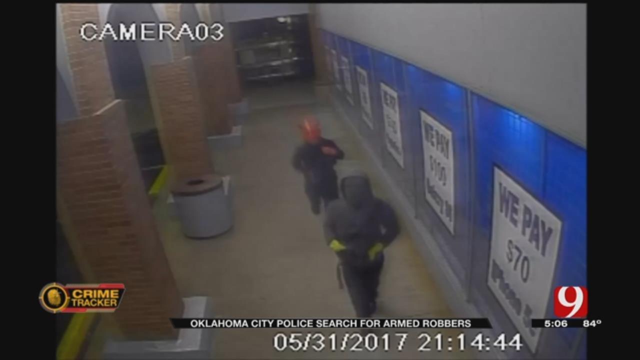 Masked Suspects Rob SW OKC Electronics Store