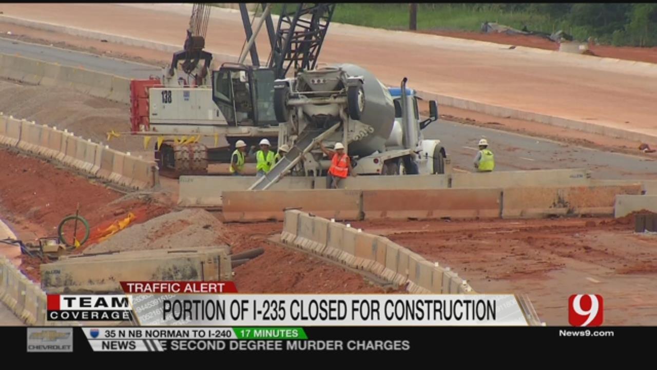 I-235 Shutdown Continues