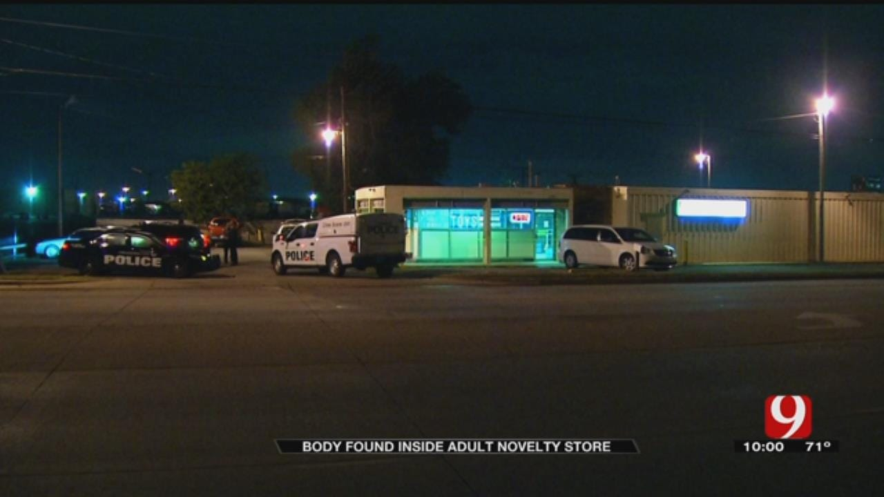 Business Owners Concerned After Body Found Inside SE OKC Adult Novelty Store