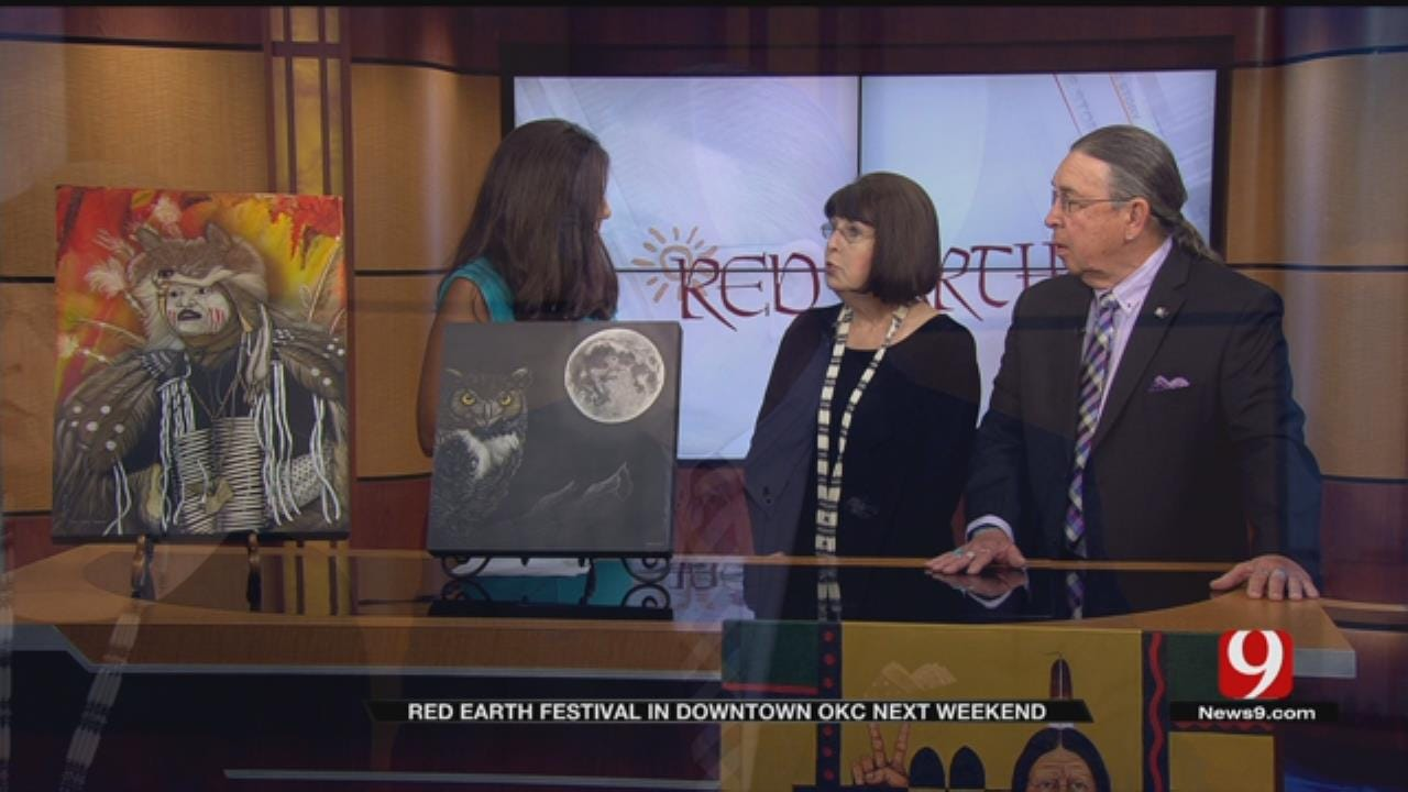 Red Earth Festival In Downtown OKC Next Weekend