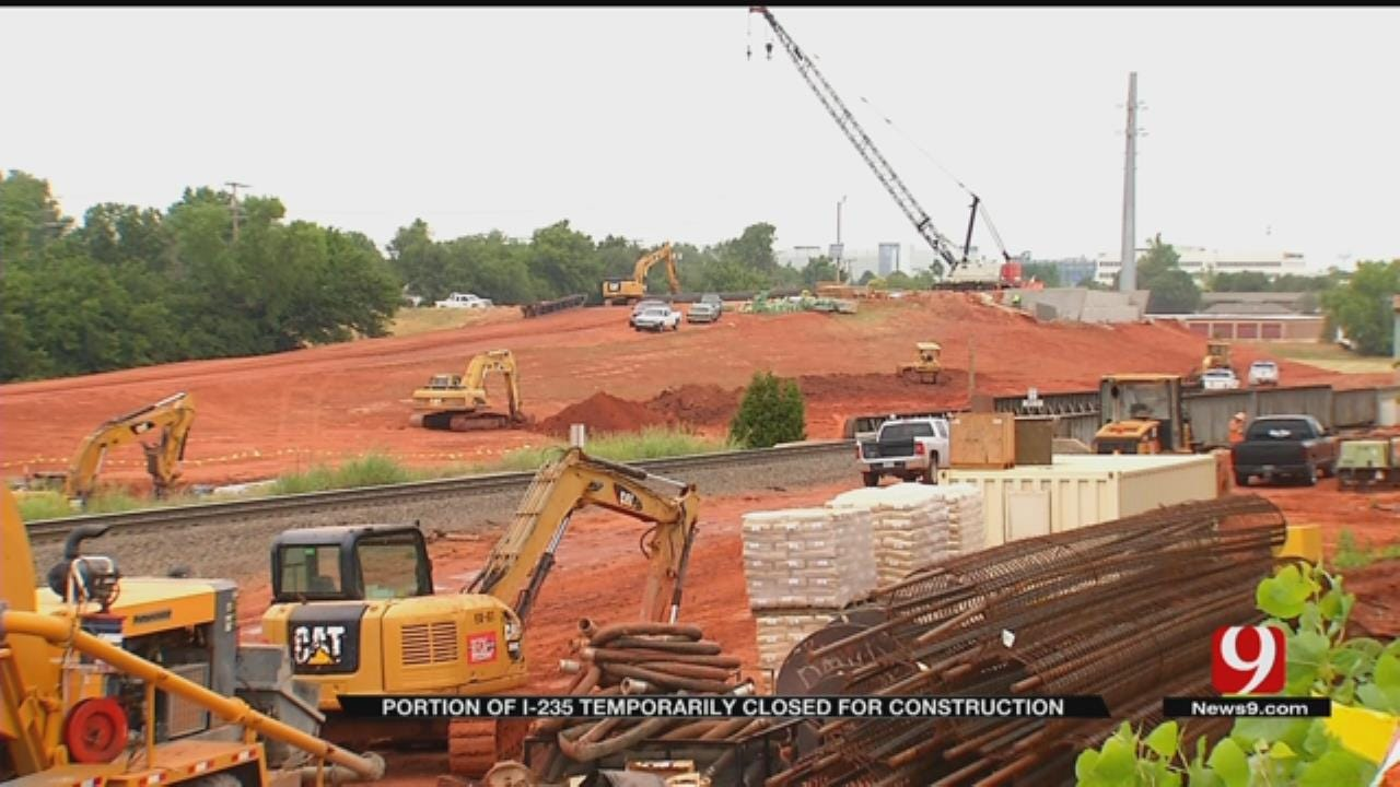 I-235 Construction Expected To Help Drainage Issues