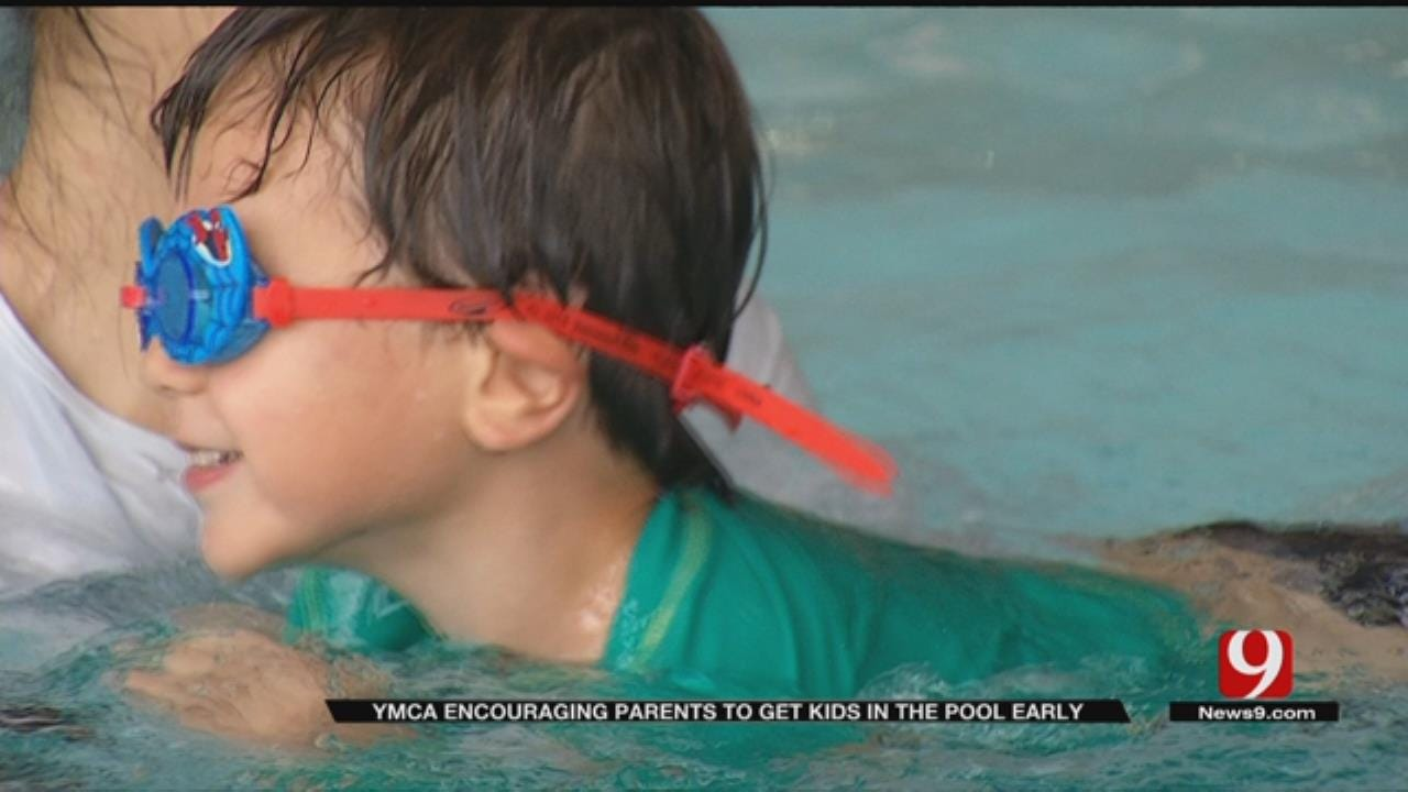 Swim Lessons Begin As Early As 6-Months At Oklahoma YMCA