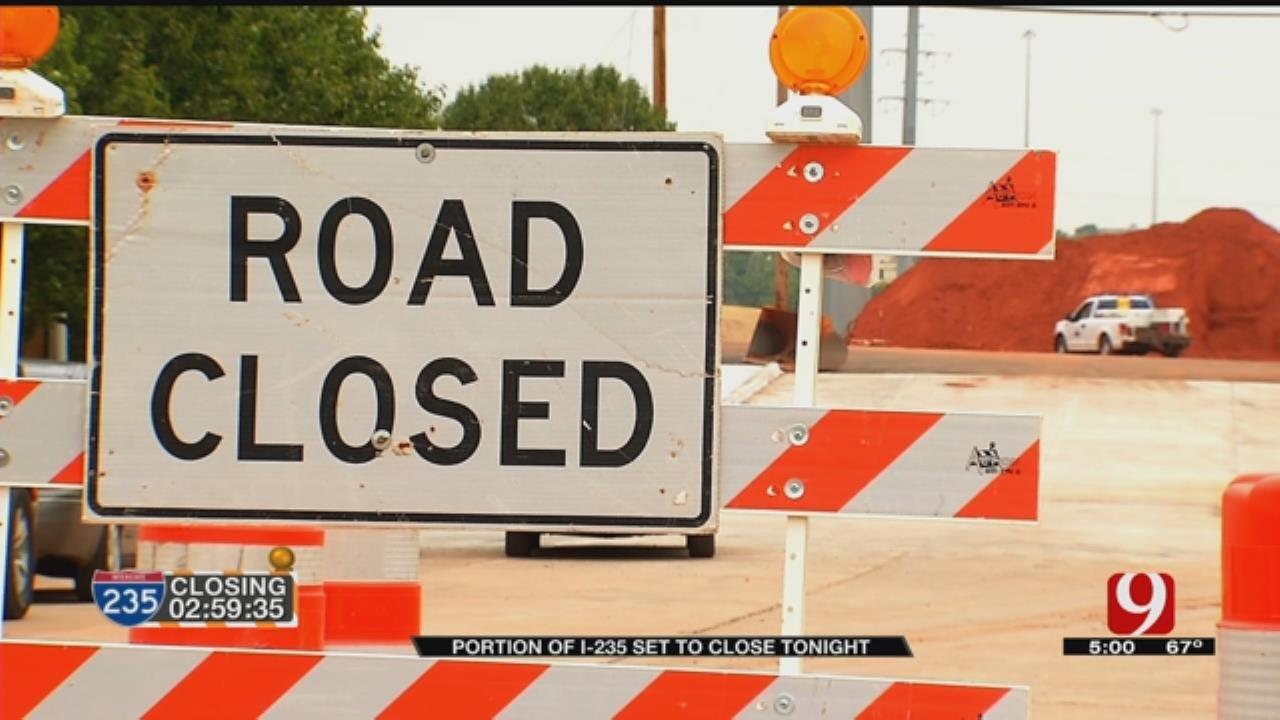 I-235 Closure Will Impact 100,000 OKC Motorists