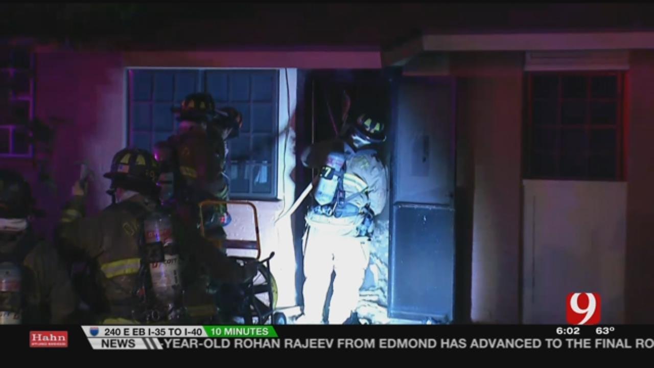 SE OKC Apartment Fire