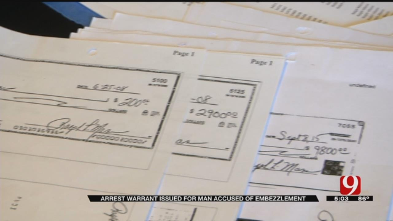 Former Treasurer Accused Of Embezzlement From OKC Home Owners Association