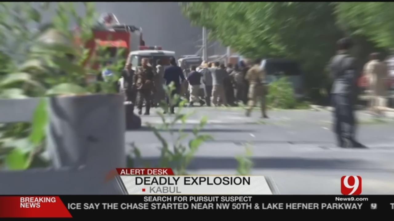 Dozens Killed, Hundreds Injured In Bombing In Kabul