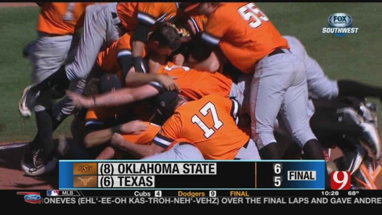 OSU Wins BIG XII Baseball Title