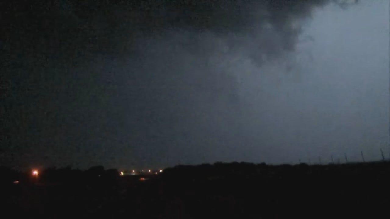 WEB EXTRA: StormTracker Alan Broerse Spots A Tornado