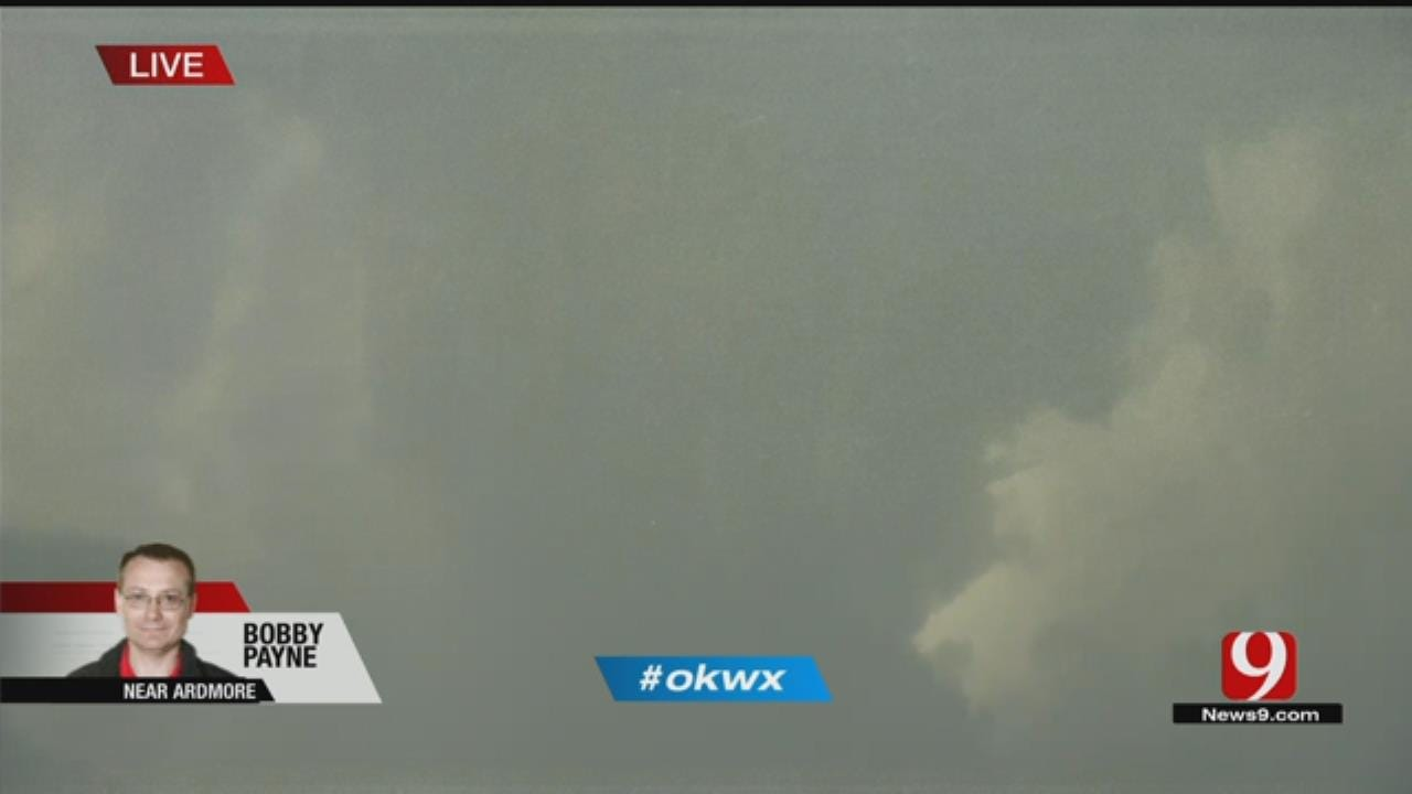 Severe Storms Begin To Crop Up In South, Central Oklahoma