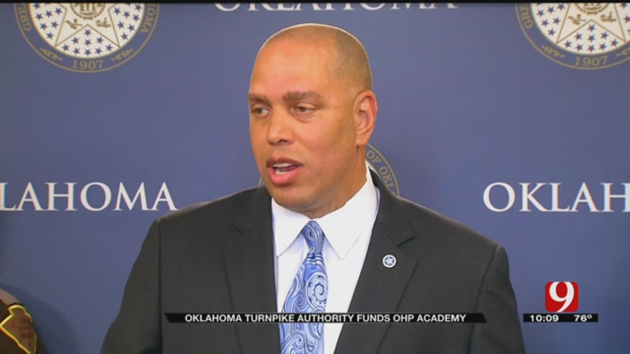Turnpike Authority To Give $5M To DPS To Fund 2018 OHP Trooper Academy