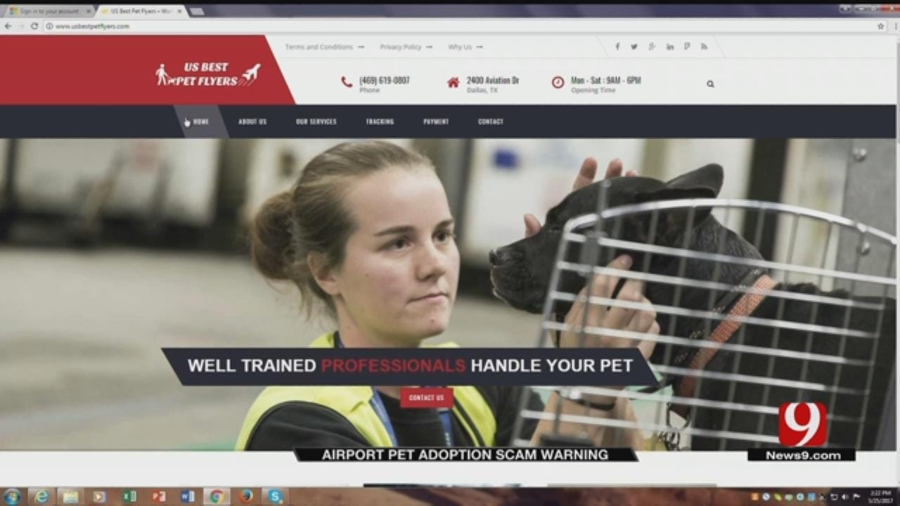 WIll Rogers World Airport Warns Of Pet Shipping Scam
