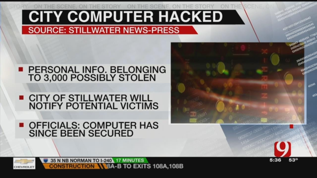 City Of Stillwater Hacked For Resident's Personal Information