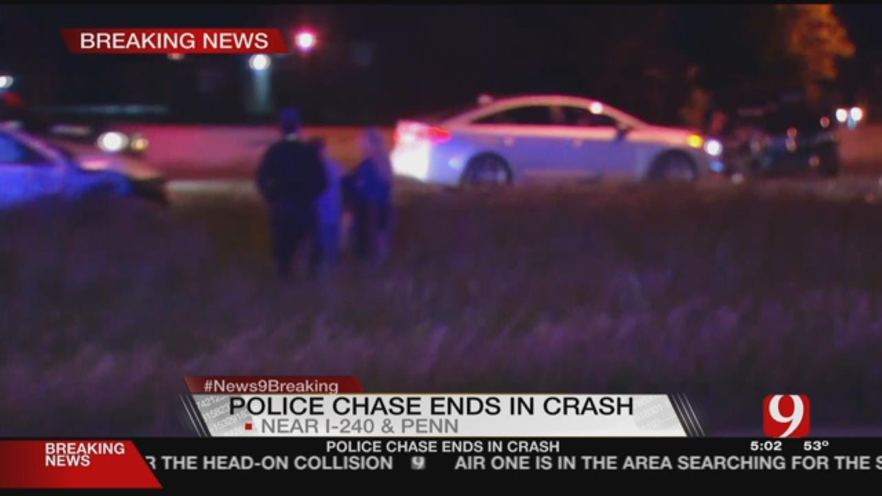 OHP Chases Suspect On I-240, On Foot Early Thursday