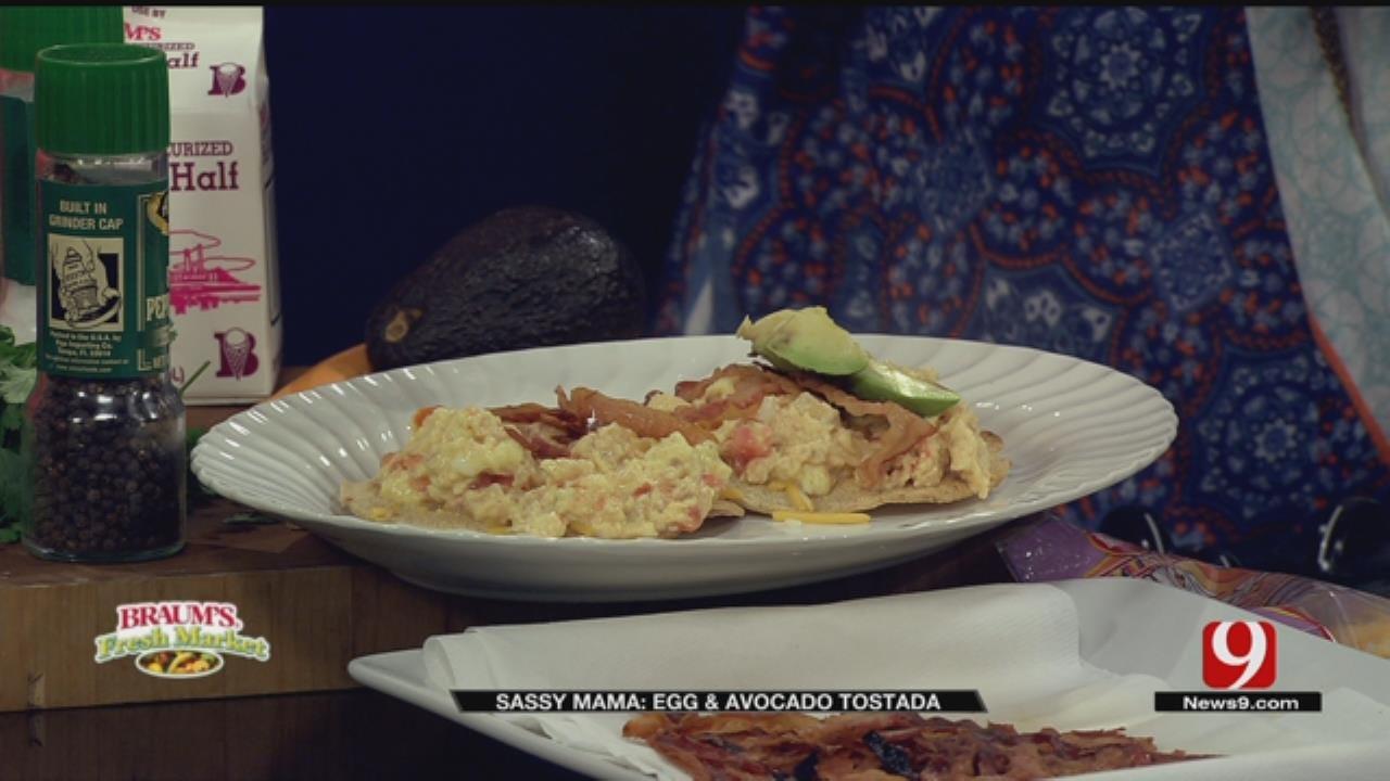 Egg And Avocado Tostada