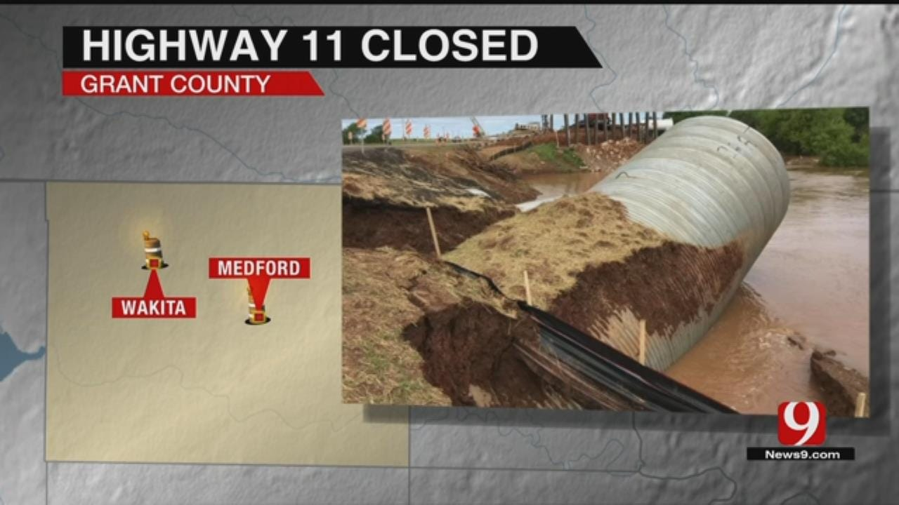 Grant Co. Highway Closed Due To High Water