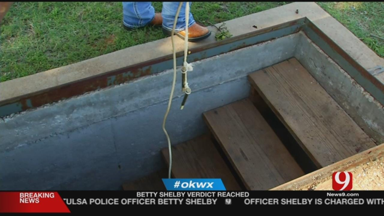 Beckham County Family Credits Storm Shelter For Saving Lives