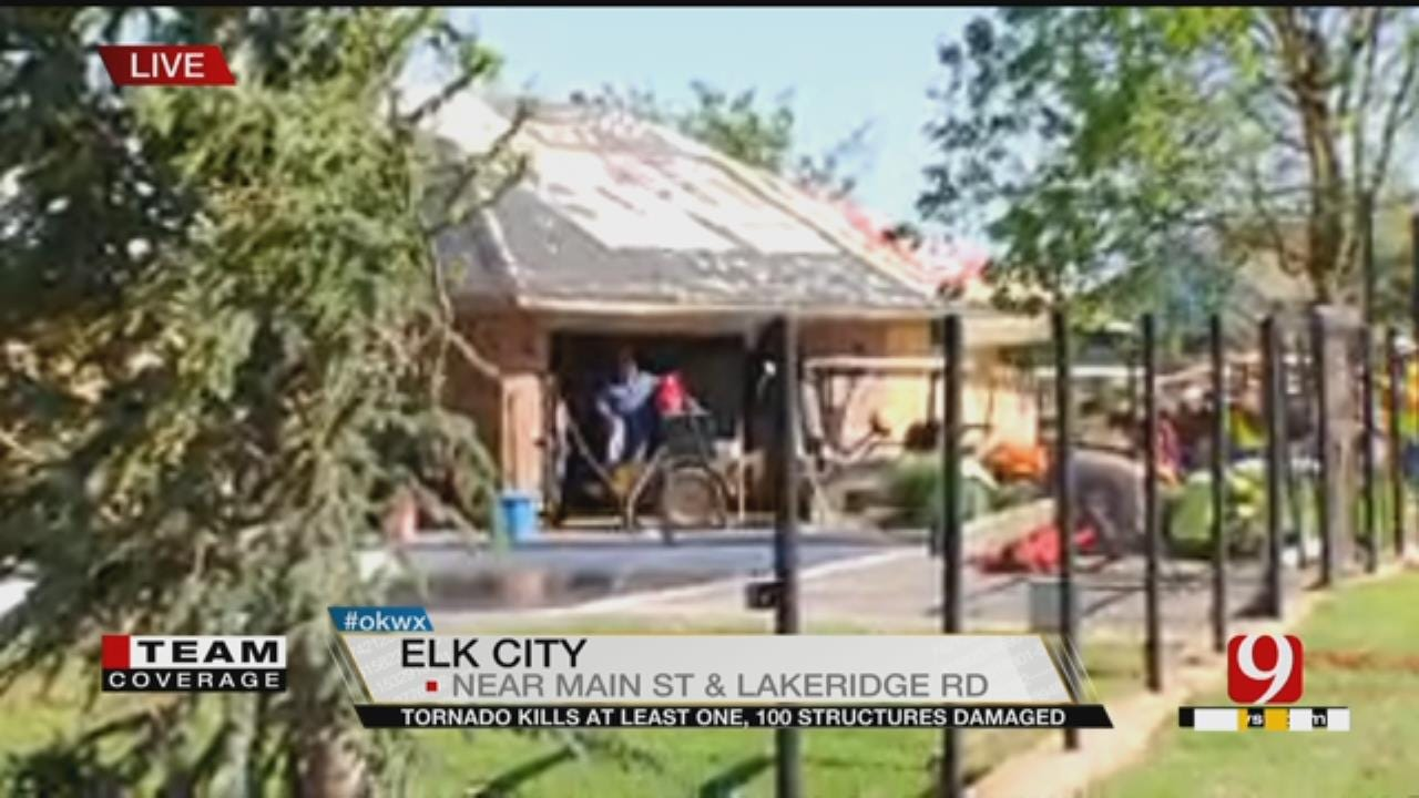 Elk City Family Searches For Dog After Severe Storm