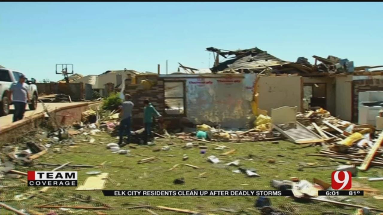 Residents Pick Up Pieces After Deadly Tornado