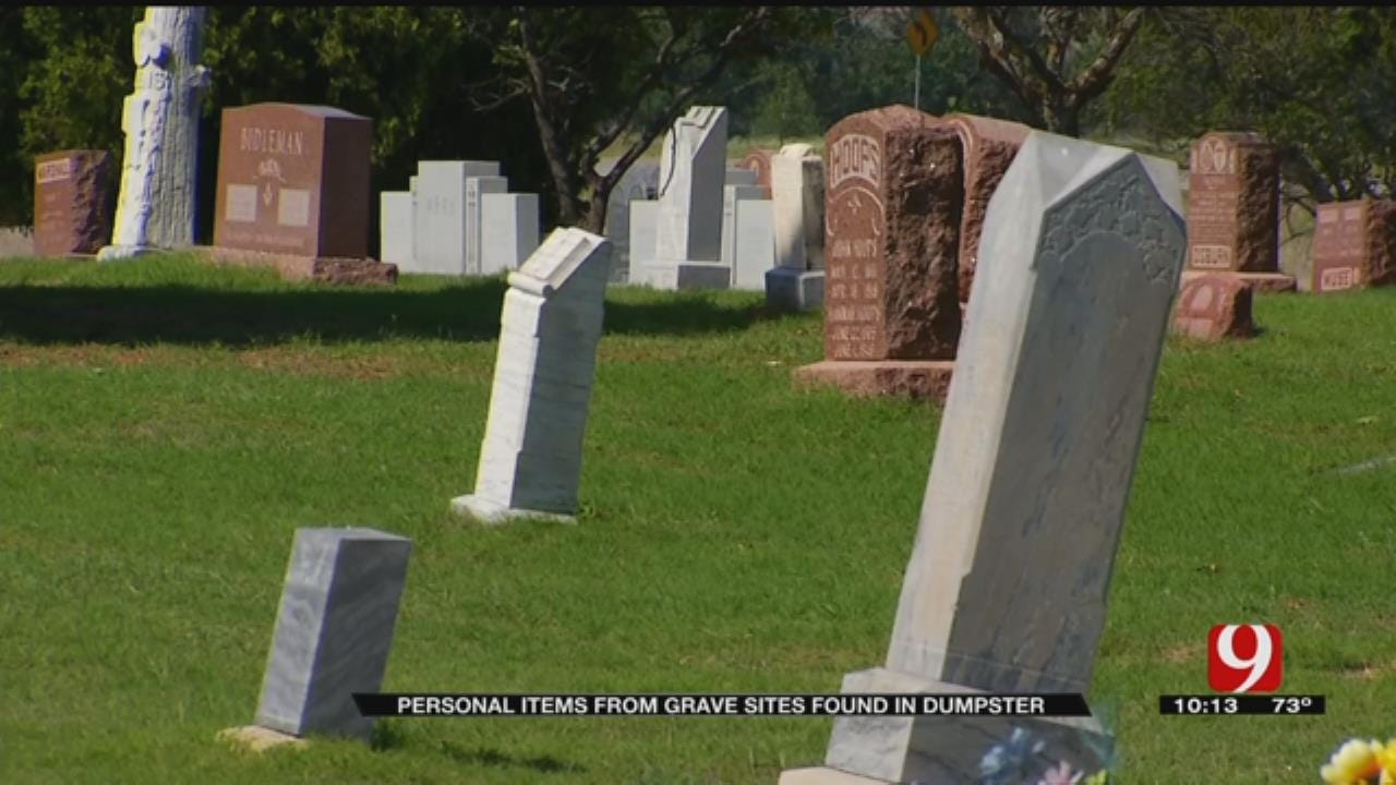 Community Members Upset About Items Taken From Cemetery