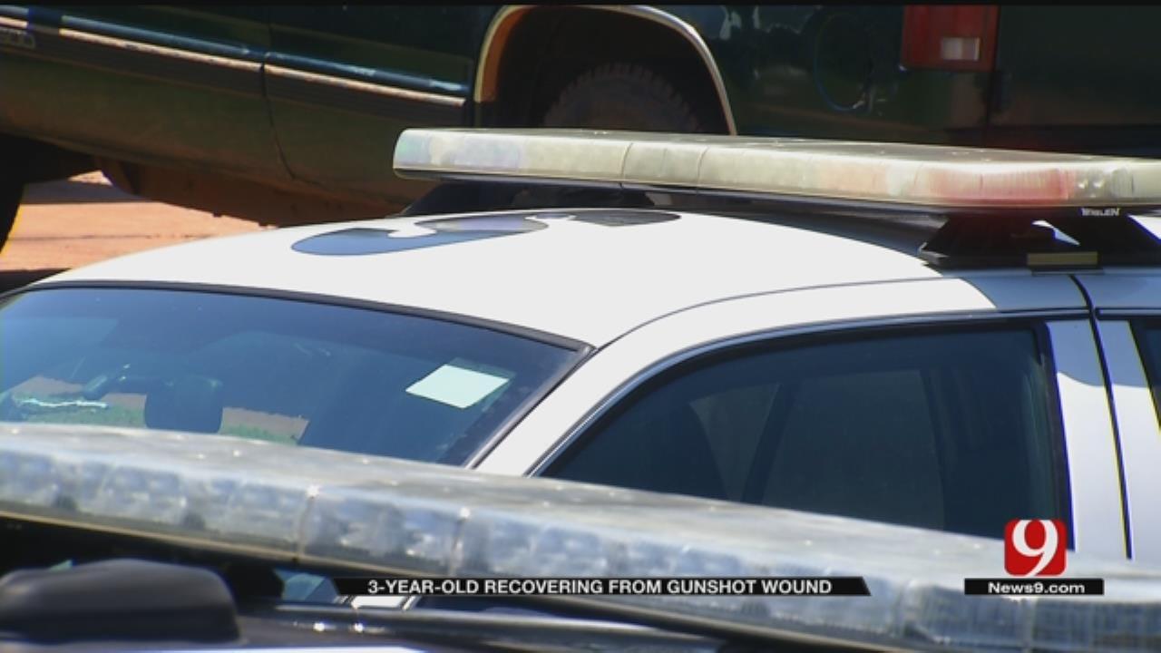 3-Year-Old Shot In SE OKC, Police Investigating