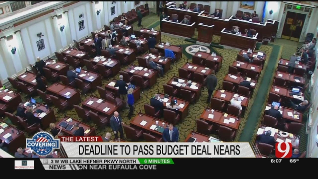 One Work Week Left And Lawmakers Still Far From Deal