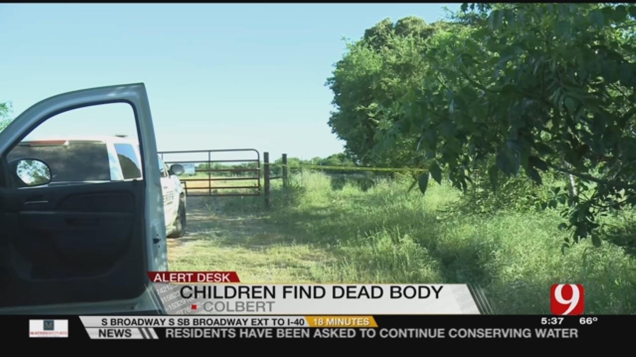 Boys Find Body In Field In Colbert Over the Weekend