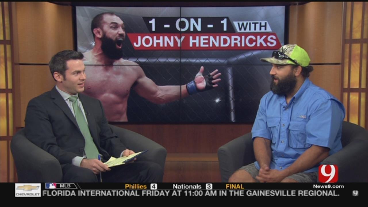 1-On-1 With Johny Hendricks