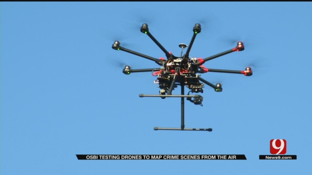 OSBI Agents To Use Drones To Map Crime Scenes