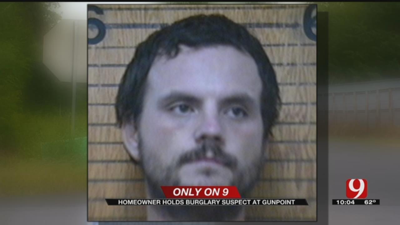 Homeowner Holds Grady County Burglar At Gunpoint, Calls Police