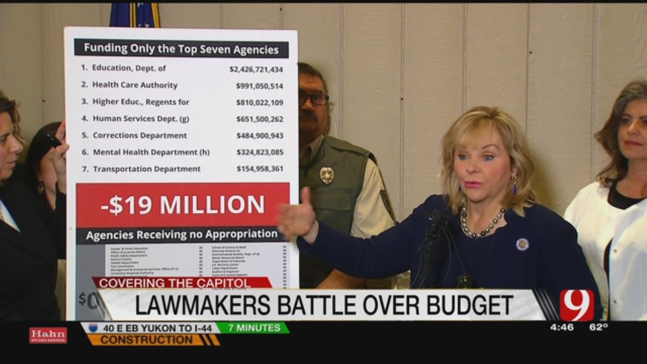 """Mitchell Hearing Of """"Counter-Insurgency"""" As State Budget Deadline Looms"""