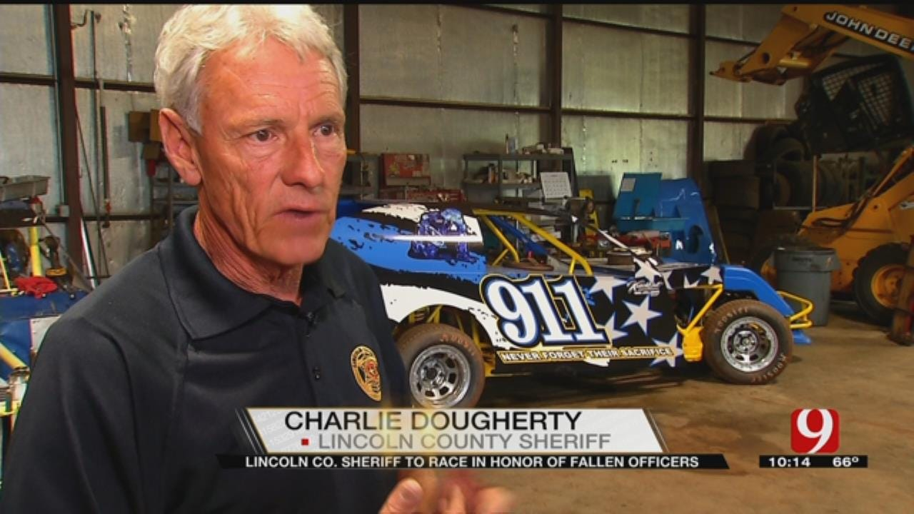 Lincoln County Sheriff Racing For Fallen Officers