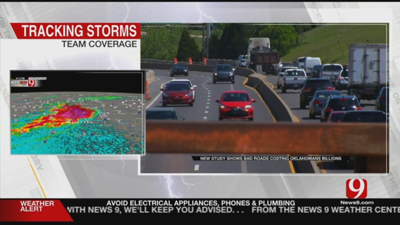 Report Shows Oklahomans Lose $5 Billion Due To Bad Roads