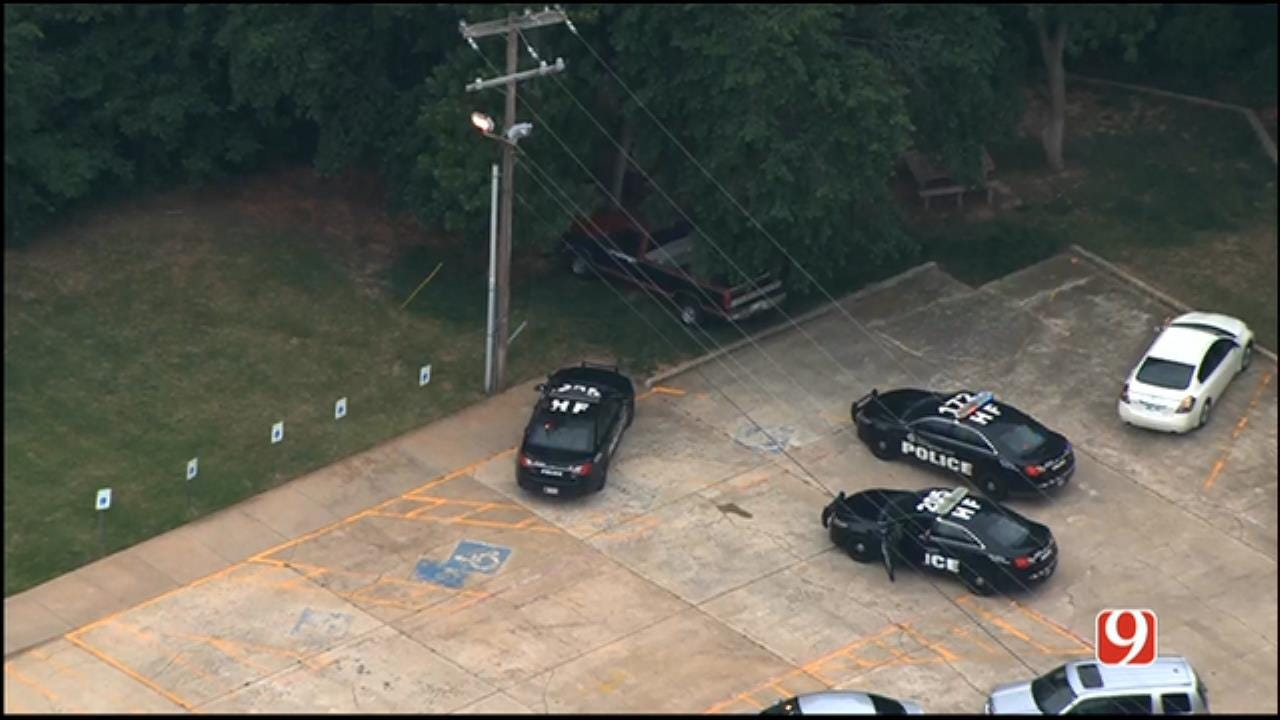WEB EXTRA: SkyNews 9 Flies Over Chase, Suspect Search in NW OKC