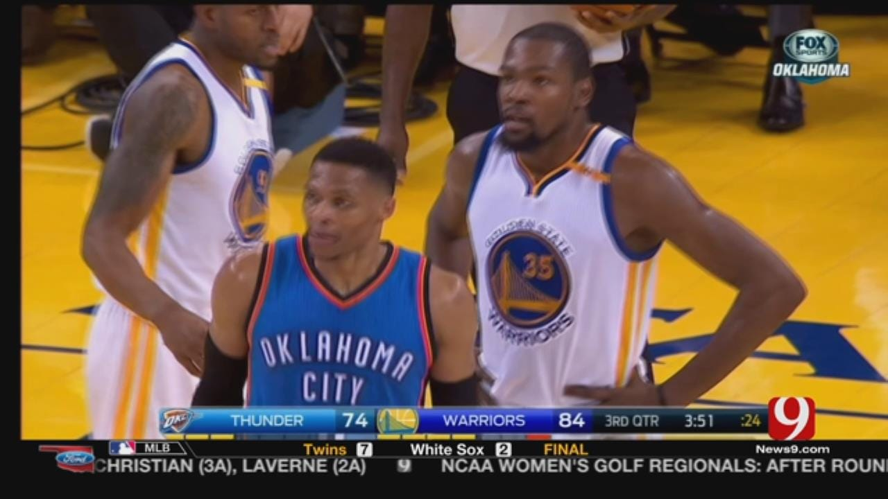 Russell Westbrook & Kevin Durant Back On Speaking Terms