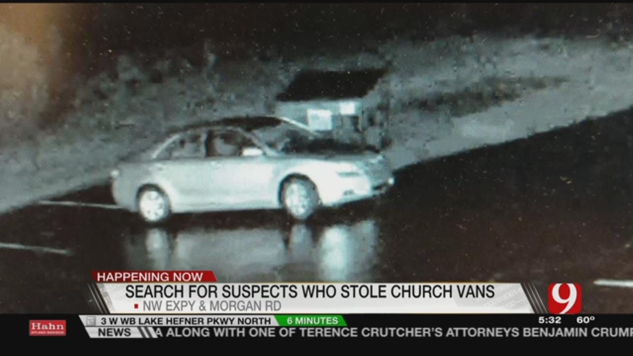 Thieves Steal Vehicles, Trailer From NW OKC Church